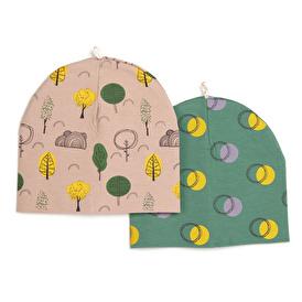 Orman Kız Bebek 2li Şapka
