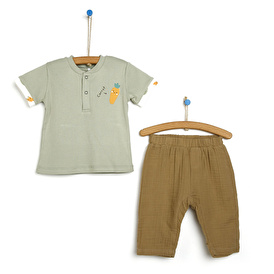 Mini Chef Tshirt-Patiksiz Alt