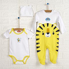 Baby Pilot Tulum-Body-Şapka