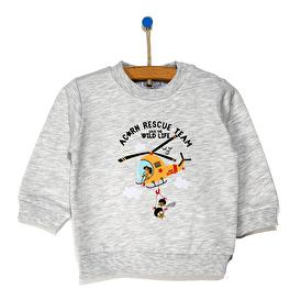 Basic Baskılı Sweatshirt