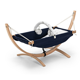 Safemom Wooden Hammock Dark Blue