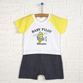 Baby Pilot Kısa Tulum