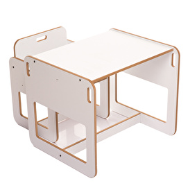 Montessori Dove Activity Table White