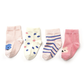 Tavşan 4lü Soket Çorap