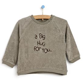 Little Safari Havlu Kumaş Sweatshirt