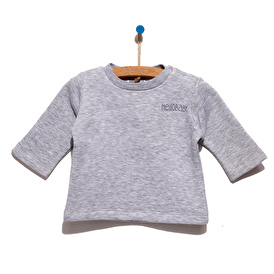 Basic Şardonlu 3 İplik Sweatshirt