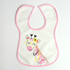 Hello World Fun Friend Poli Baby Strap Apron/Bib