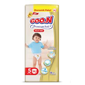 Premium Soft Baby Diaper Panty Size 5 Super Jumbo Pack 34 pcs 12-17 kg