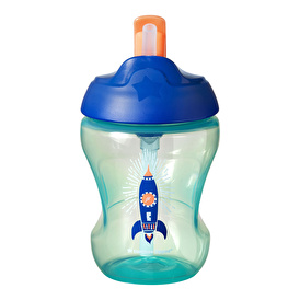 Educational Drip-Free Straw Cup 6+ months 230 ml