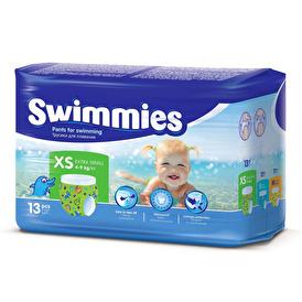 Baby Swim Diapers Size 1 XS 4-9 kg 13 pcs