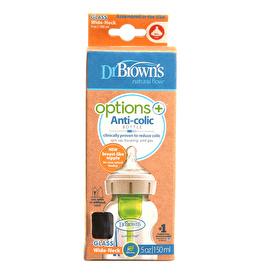 Geniş Ağız Options+ Cam Biberon 150 ml