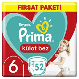Külot Bebek Bezi Fırsat Paketi XL 6 Beden 15 kg+ 52 Adet