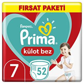 Külot Bebek Bezi Fırsat Paketi XXL 7 Beden 17 kg+ 52 Adet