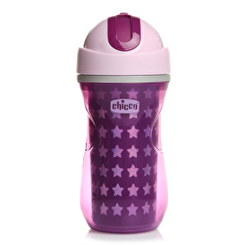 Heat Insulated Sport Cup with Straw 14 M + Girl