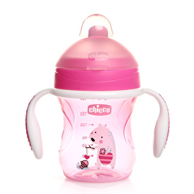 Assorted Semi Soft Spout Training Cup 200 ml 6 M + Girl