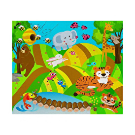 Cheerful Forest Play Carpet Set