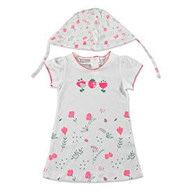 Yaz Kız Bebek Flowers Elbise