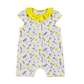 Summer Baby Girl Flowers Jumpsuit