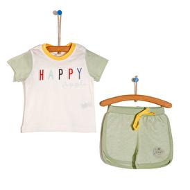 HAPPY APPLE Tshirt-Şort