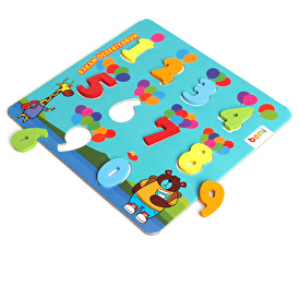 baby toys Wooden Numbers Baby Puzzle