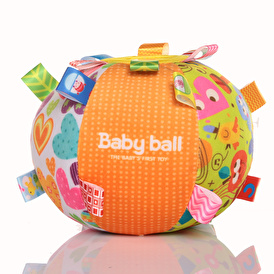 Baby's First Ball Educational Toy- With Mirror