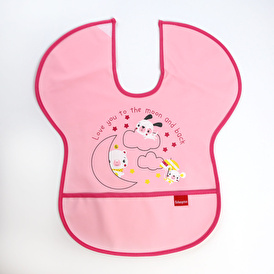 Poli Half Sleeve Feeding Bib Unicorn