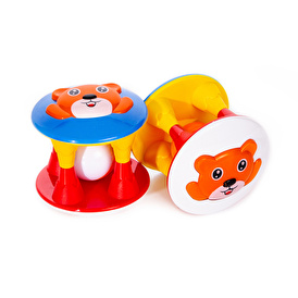 Display Cute Baby Rattle