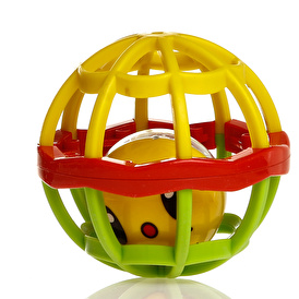 Rubber Fitness Rattle Ball