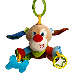 Dog Teddy Squeegee Teether