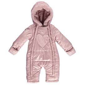 Winter Baby Girl Snowsuit Romper