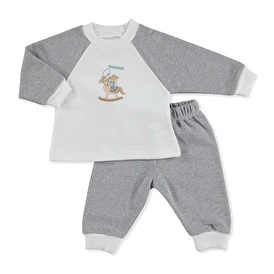 Little Cowboy Sweatshirt-Pantolon