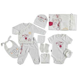 Floral Bear 10 Pcs Hospital Pack