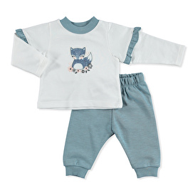 Cute Fox Sweatshirt-Pants