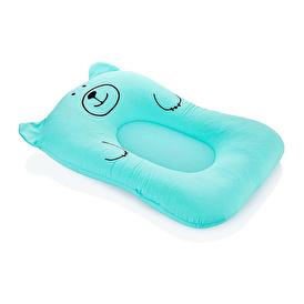 Foam Patterned Bathroom Baby Mattress Blue
