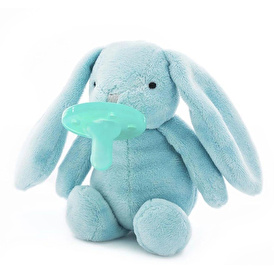 Emzikli Uyku Arkadaşı Mavi Tavşan Hijyen Kapaklı
