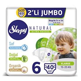 Natural Baby Diaper XL 6 Size 40 pcs