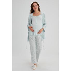 Modal 3 lü Pijama Takımı