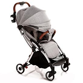 C-Go Otomatik Katlanan Bebek Arabası Gri