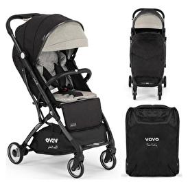Vovo Bebek Arabası Siyah