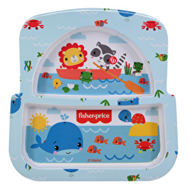 Panda Food Plate with Compartment