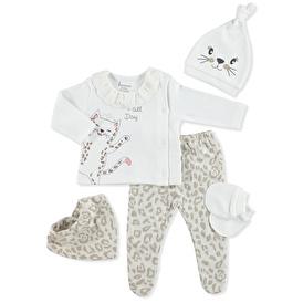 Leopard Baby Chic 5li Askı Hastane Çıkışı