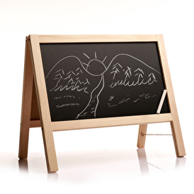 Desktop Double Sided Writing Board Without Magnetics
