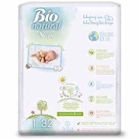 Natural Baby Diapers Size 1 Newborn 2-5 kg 40 pcs