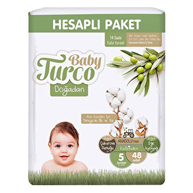 Sleepy Natural Baby Diapers Size 5 Junior 11-18 kg 24 pcs