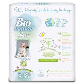 Natural Baby Diapers Size 5 Junior 11-18 kg 24 pcs