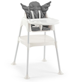 Çalışma Masalı Mama Sandalyesi Gri