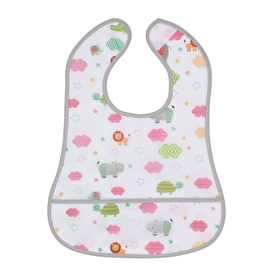 Smart Patterned Baby Feeding Bib