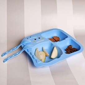 PP Bebek Yemek Seti (3 parça) Mavi