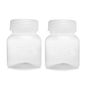 baby plus Milk Storage Bottle 4 pcs 150 ml