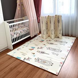 Infant Hobby Forest Katlanabilir Oyun Matı 180x200 cm